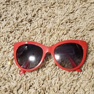 Dolce and Gabbana Red Sunglass